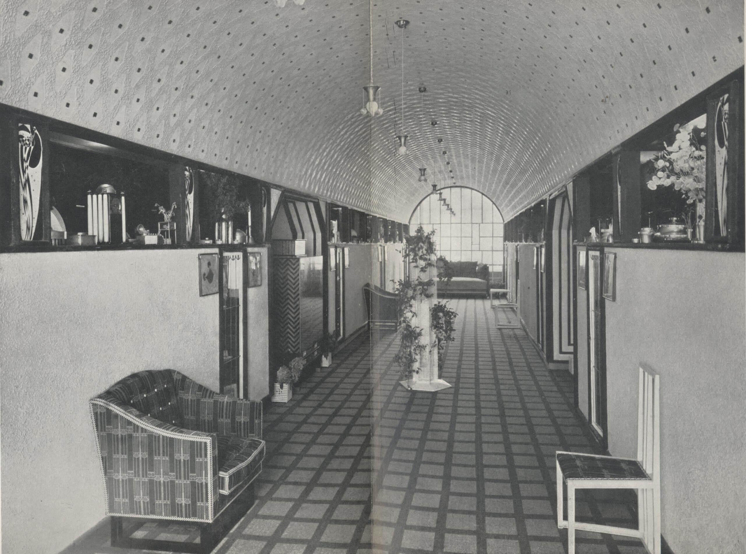 Exhibition of the Wiener Werkstätte, Berlin, 1904
