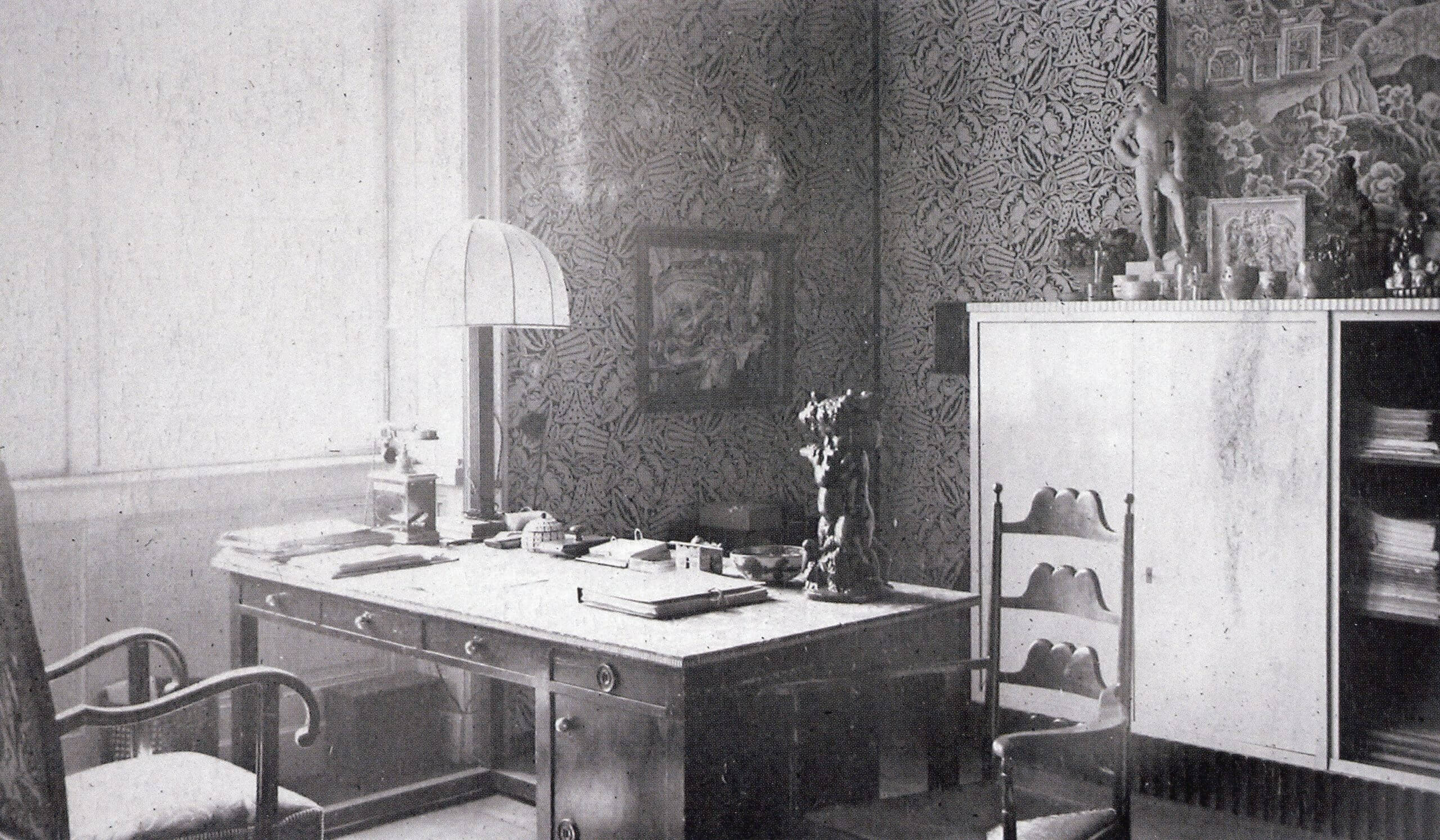 Josef Hoffmann's office