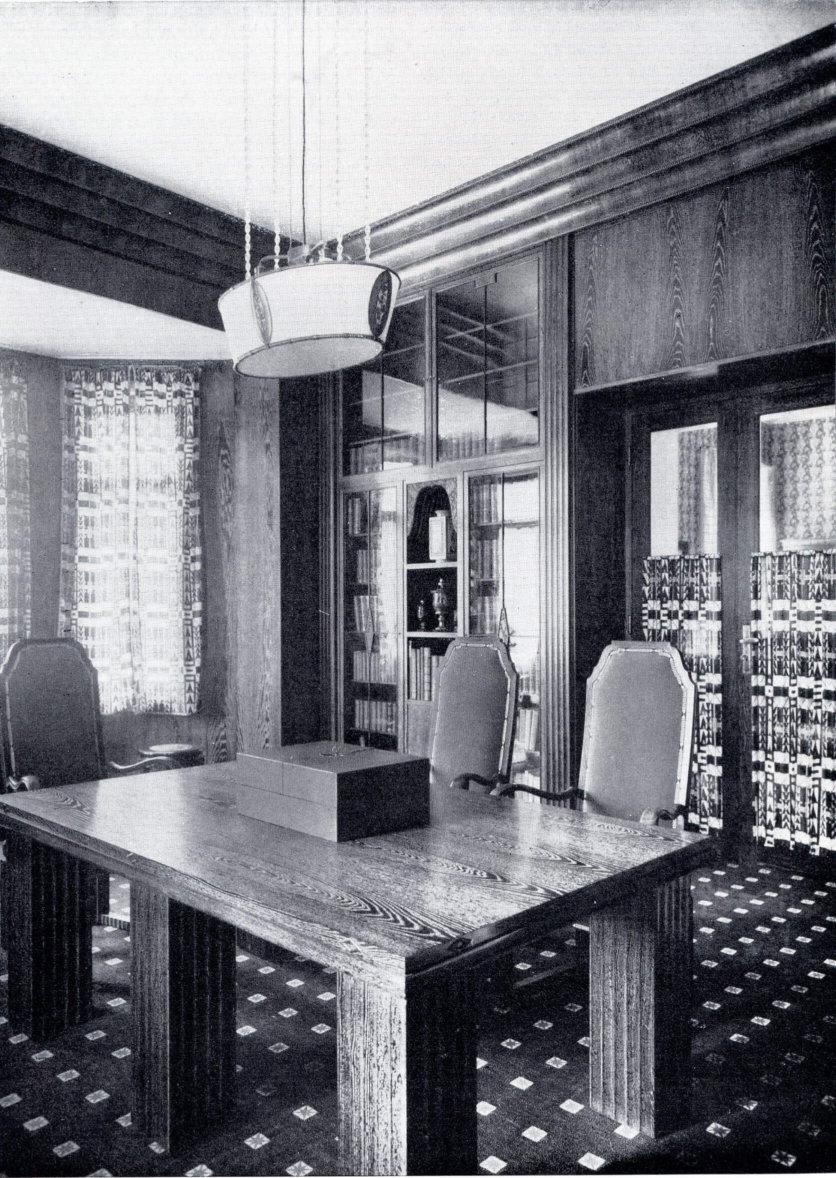 Otto Zuckerkandl's smoking room
