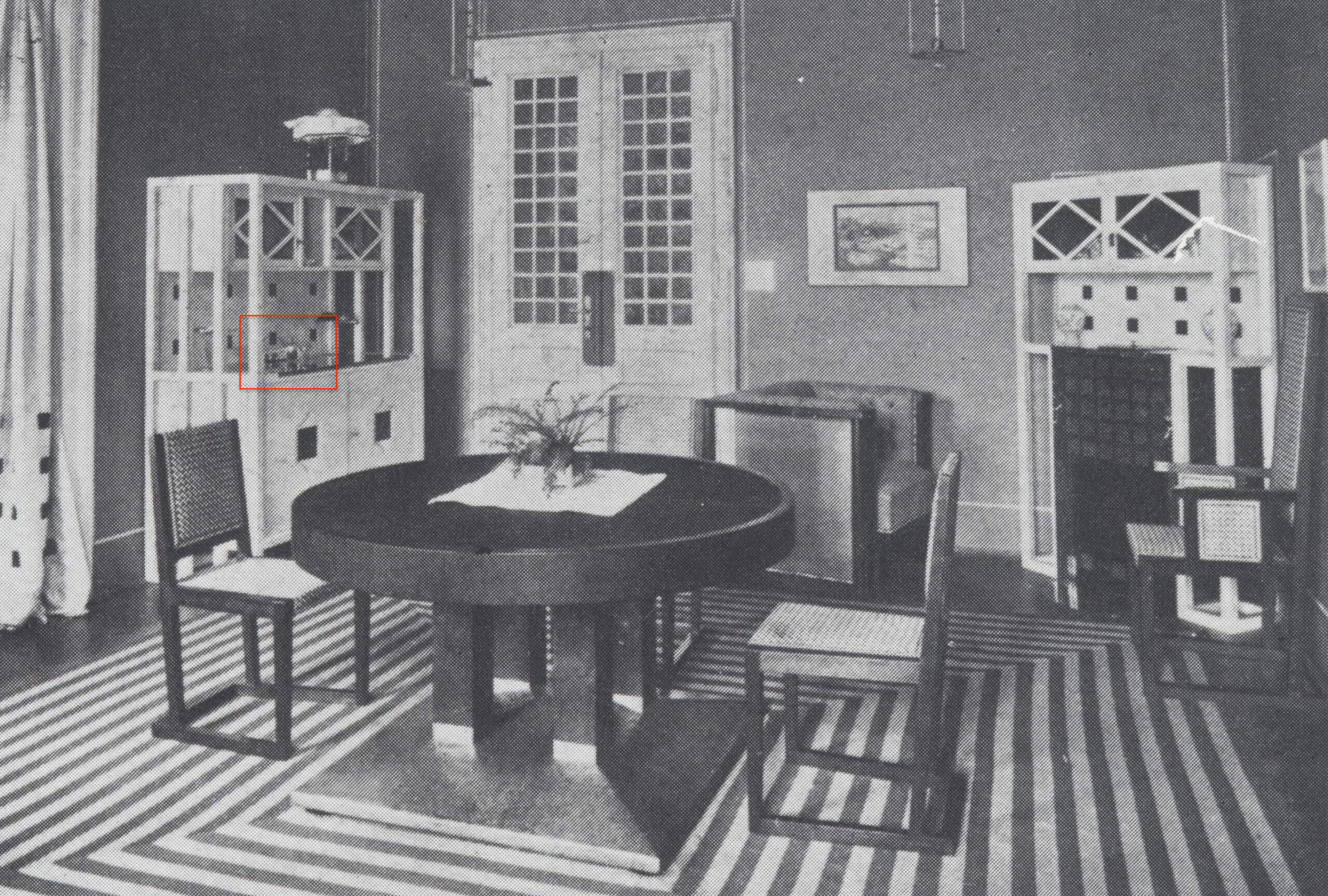 Archive of the Dr. Salzer's interior