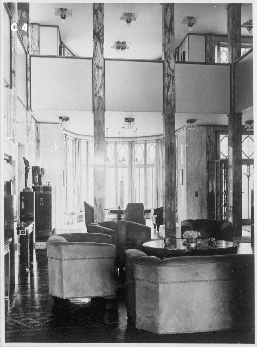 View of the Grand Salon, Palais Stoclet