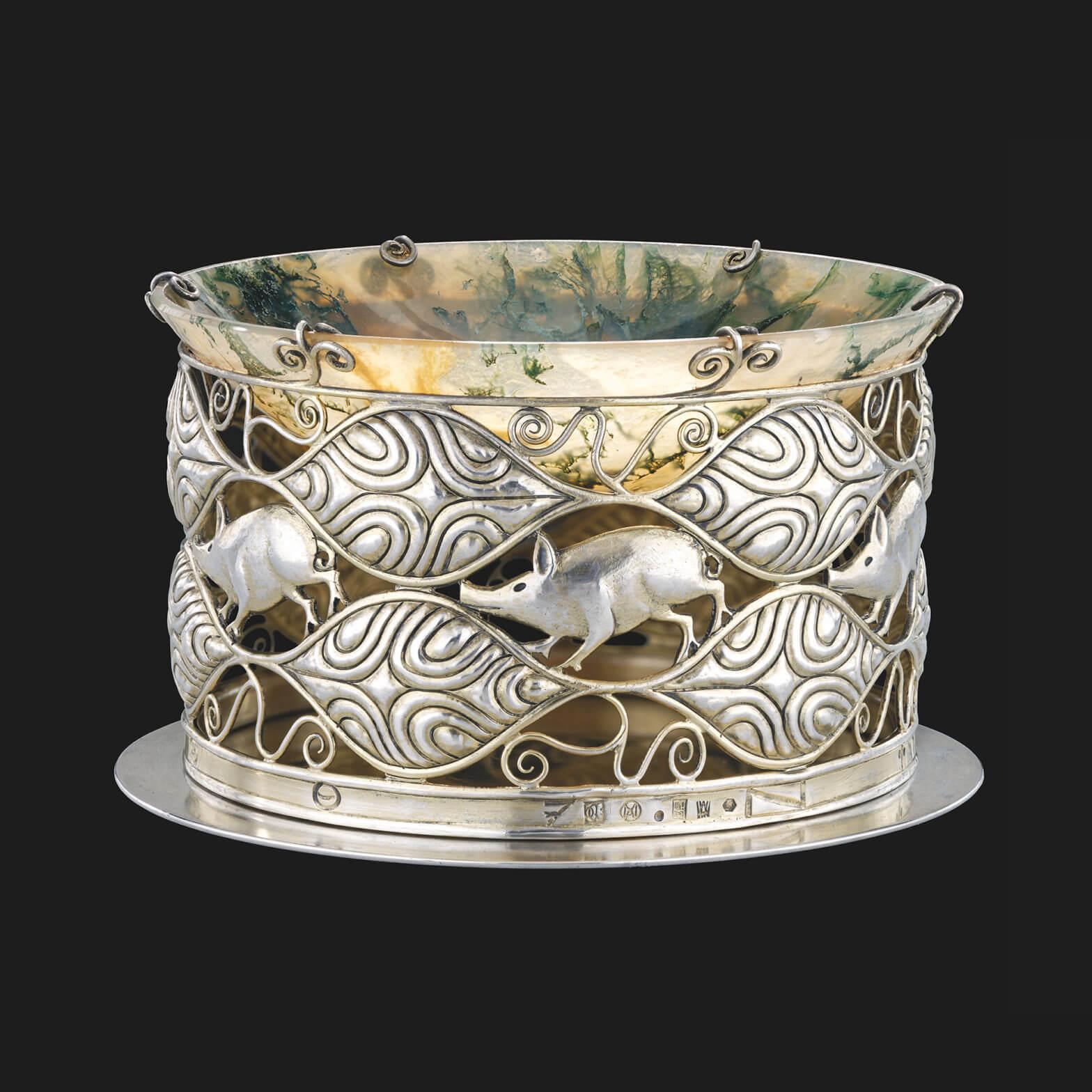 Carl Otto Czeschka - Jewelry bowl model n° S 983