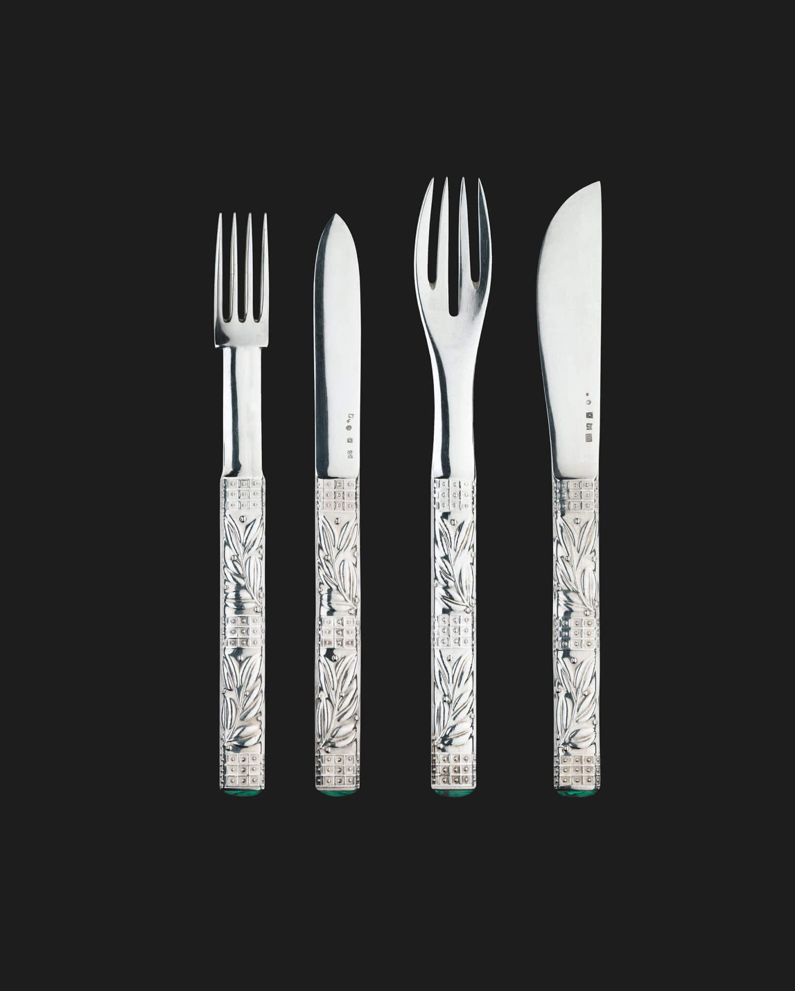 Josef Hoffmann - Set of cutlery