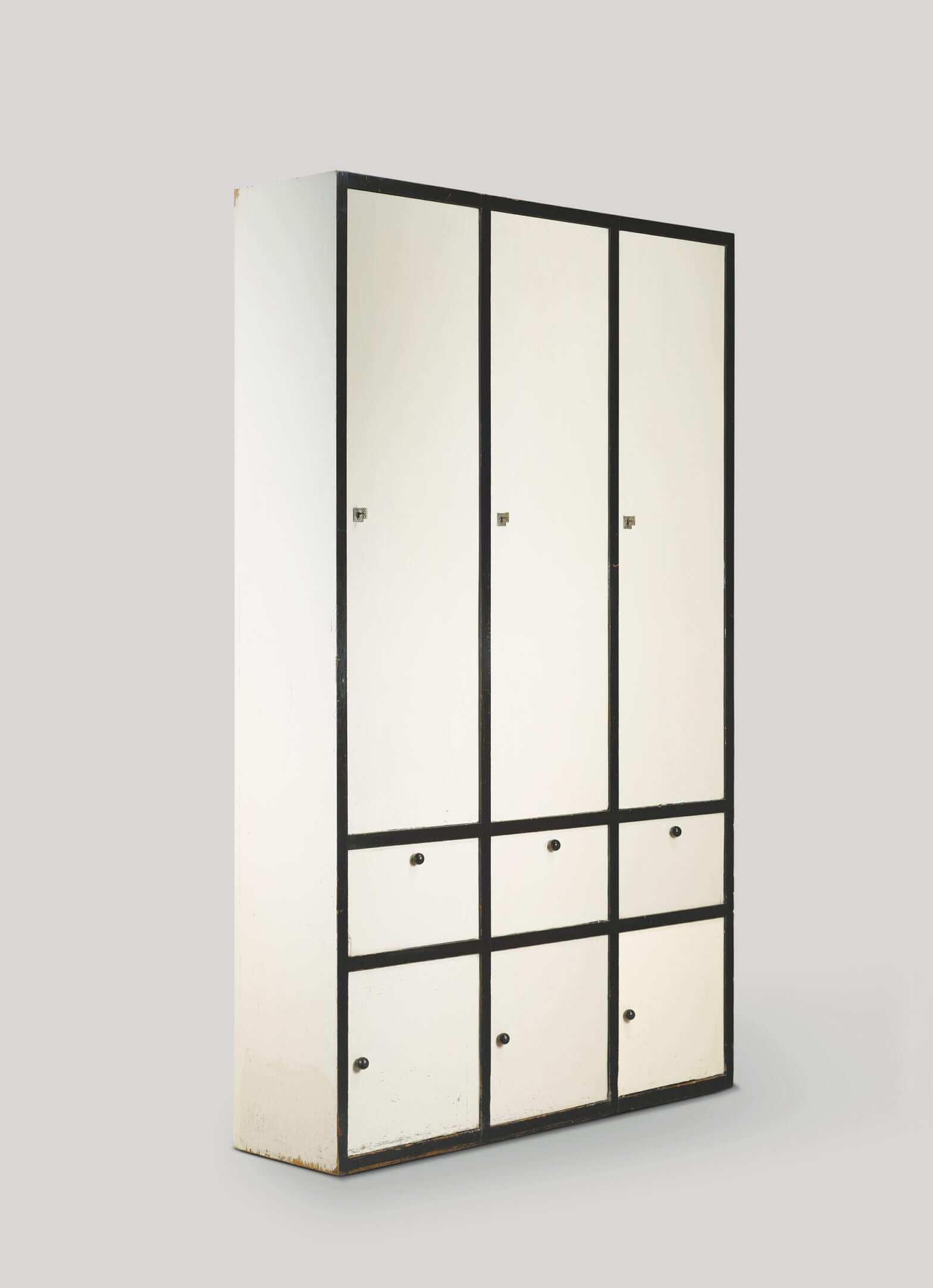 Josef Hoffmann - Cabinet for the Flöge sisters' fashion house, MAK, Vienna, NGV, National Gallery of Victoria, Melbourne