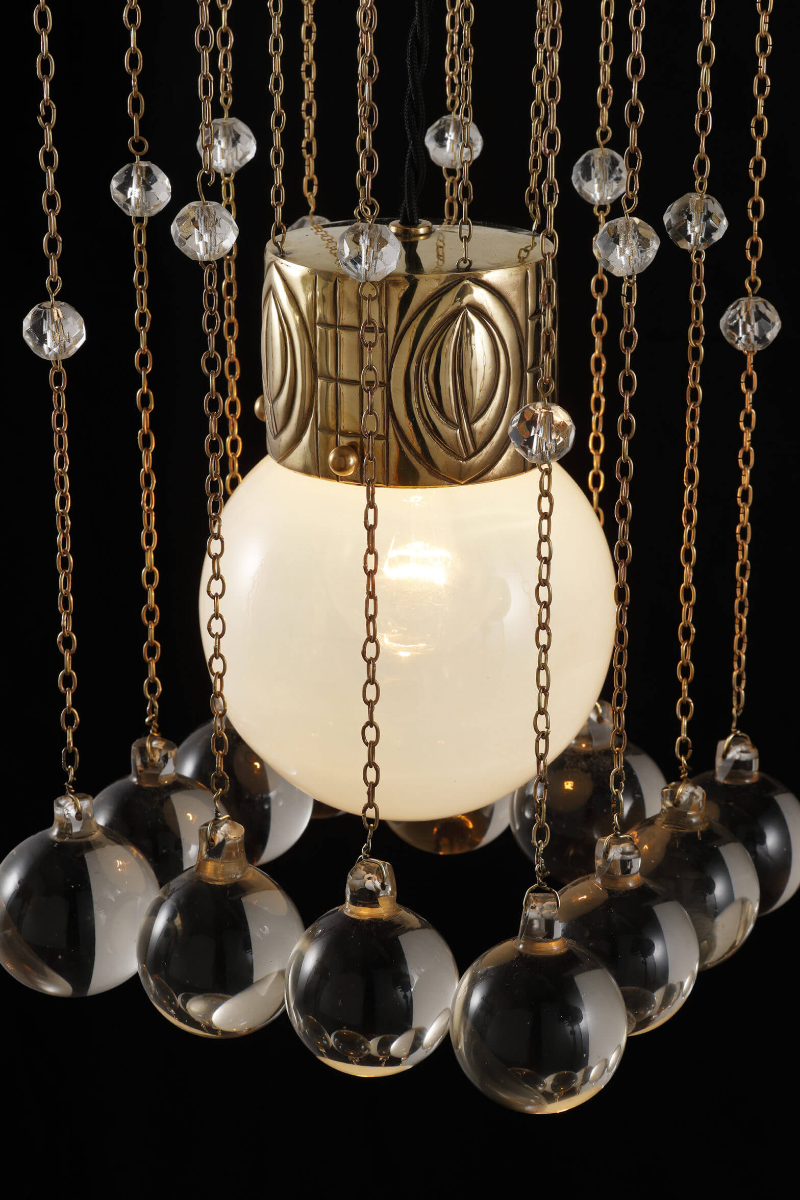 Josef Hoffmann - Hanging lamp model n° 997, prototype for the Palais Stoclet