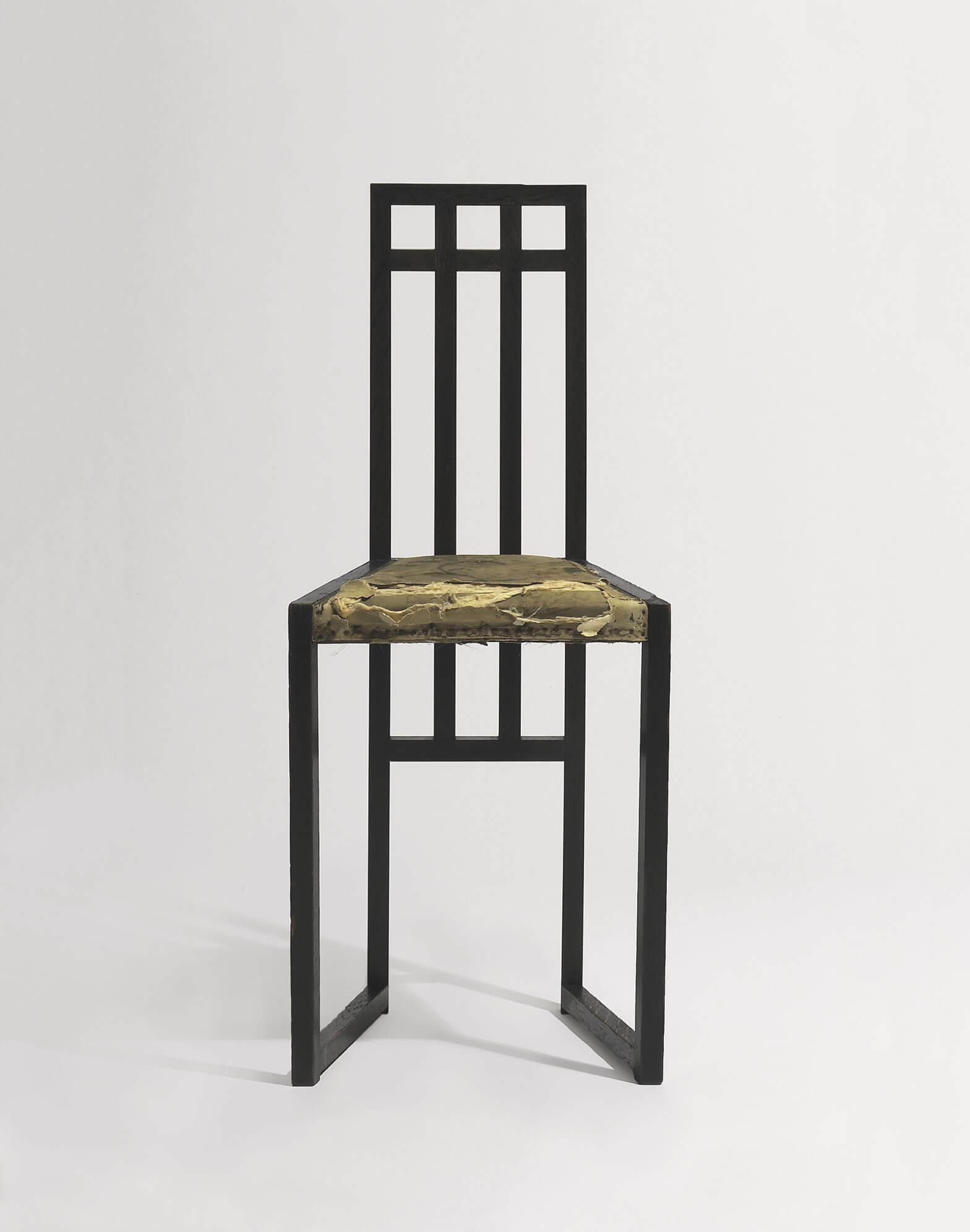 Josef Hoffmann - Side chair for the premises of the Wiener Werkstätte