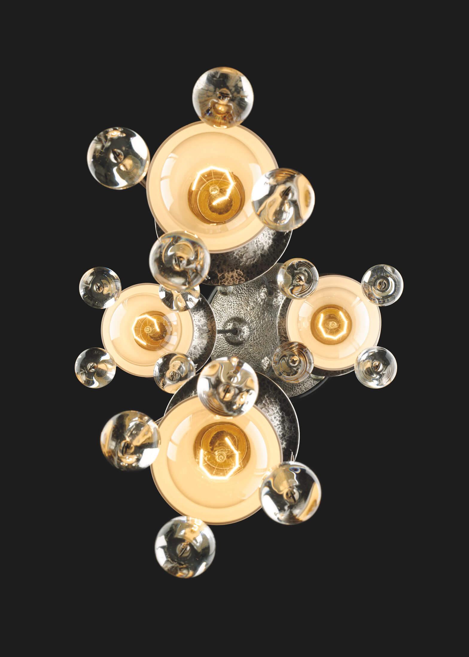 Josef Hoffmann - Hanging chandelier for Herman Wittgenstein