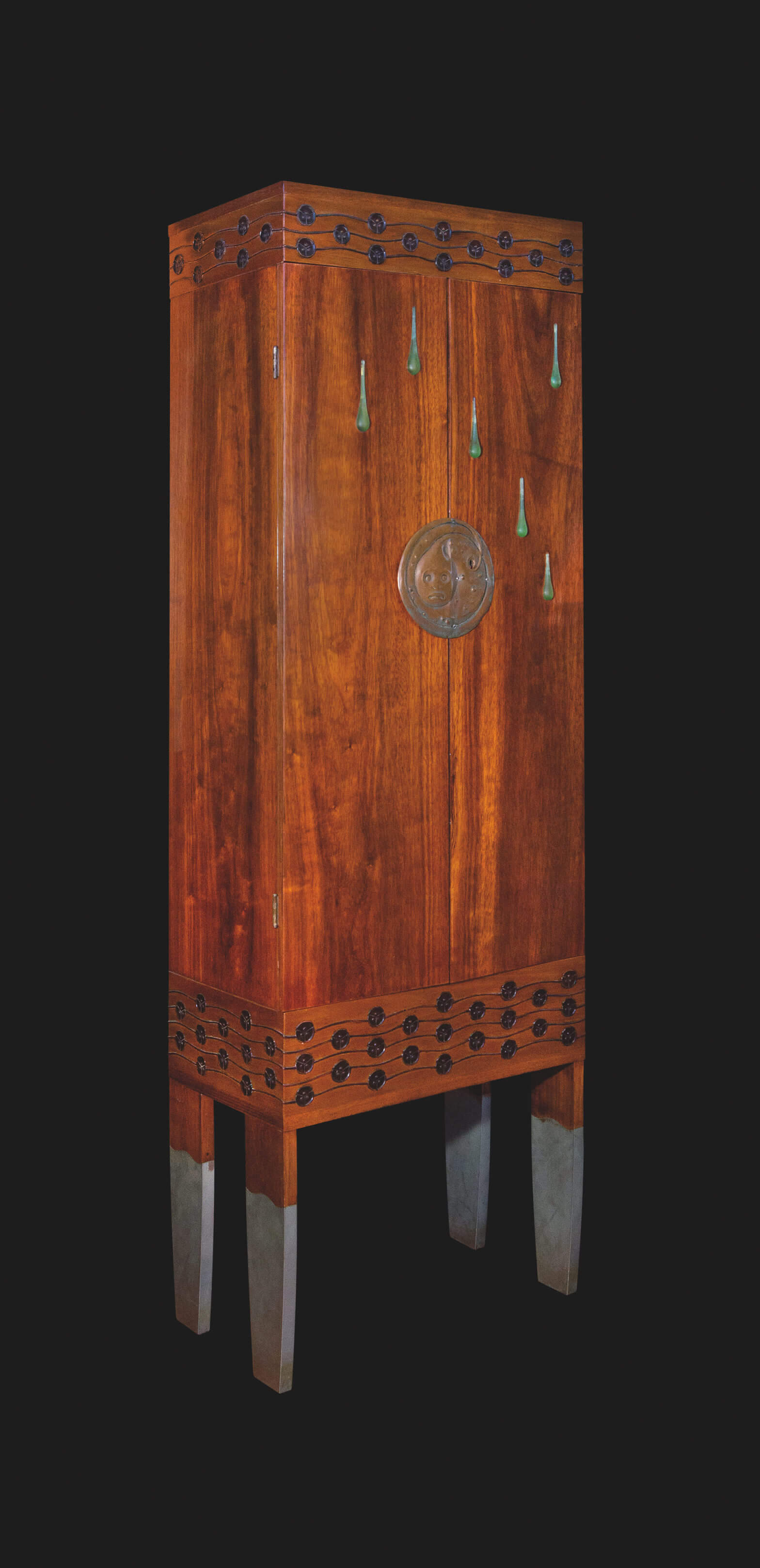 Koloman Moser - The Enchanted Princess Cabinet, NGV, National Gallery of Victoria, Melbourne